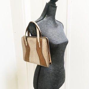 Via Spiga Embossed Leather Purse